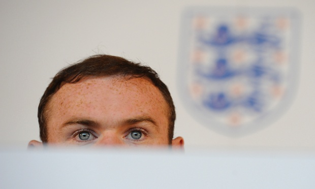 Wayne Rooney in a press conference at the official launch of St Georges Park, the new Football Association training facility.