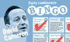 David Cameron bingo