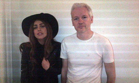Gaga and Assange