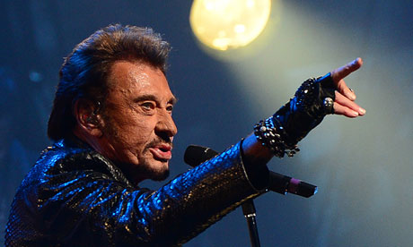 Johnny Hallyday set for Albert Hall gig 'French Elvis' rock'n'roller to play inaugural UK concert more than 50 years after his first hit single
