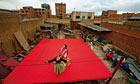 Cholitas Luchadores, El Alto, Bolivia