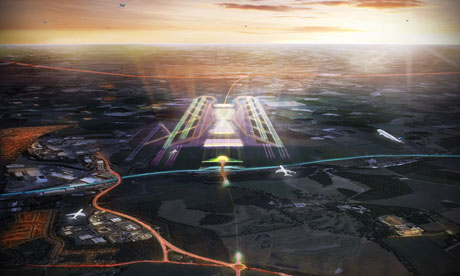 Weston Williamson's proposals for an expanded Luton airport