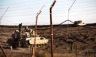 Israel fires warning shots into Syria as violence escalates in Gaza