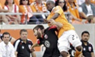 Boniek Garcia Chris Korb Houston Dynamo DC United