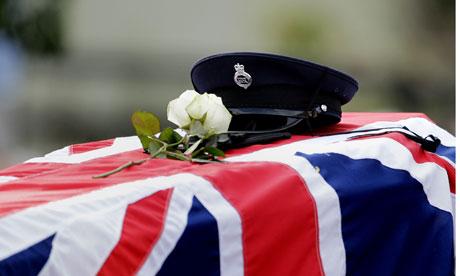 David Black funeral in Northern Ireland
