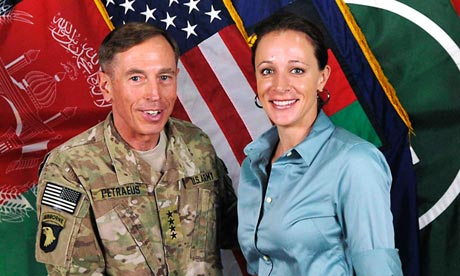 Photos Paula Broadwell on David Petraeus And Paula Broadwell In This Handout Photo Originally