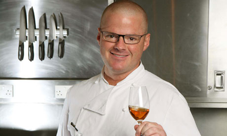 Heston Blumenthal at the Fat Duck