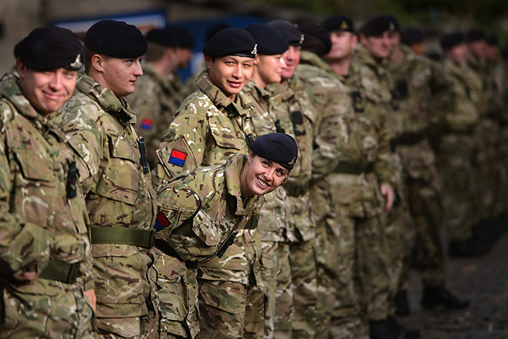 24 hours in pictures: Soldiers from the 19th Regiment Royal Artillery
