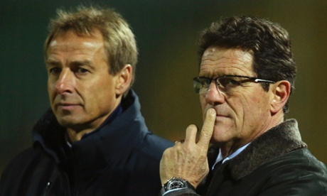 Russia vs USA: Fabio Capello vs Jurgen Klinsmann