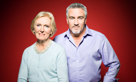 Bake Off's Paul Hollywood and Mary Berry: 'We argue over ...