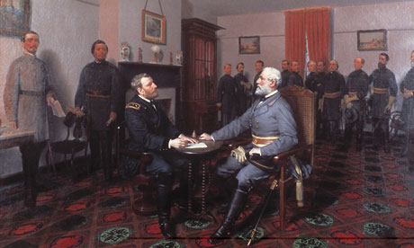 Robert e lee surrendering 008