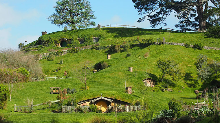 New Zealand Lord Of The Rings Locations Hobbiton