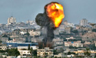 Air strike hits Gaza