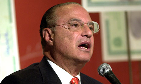 Brazilian businessman and former São Paulo mayor Paulo Maluf