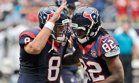 Matt Schaub, Keshawn Martin, Houston Texans