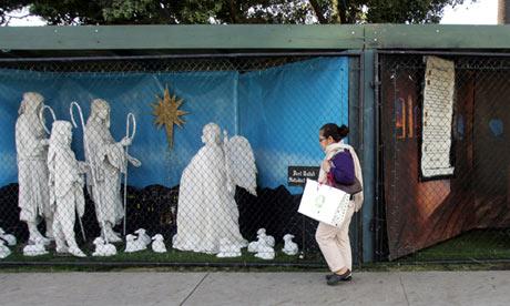 Santa Monica nativity scenes
