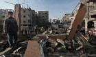 Israeli air strike in Khan Younis