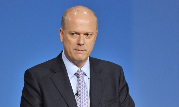 Chris Grayling, the justice secretary, is deliving a speech on prisoner rehabilitation.