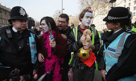 Students Protest Over The Government's Plans For Higher Education