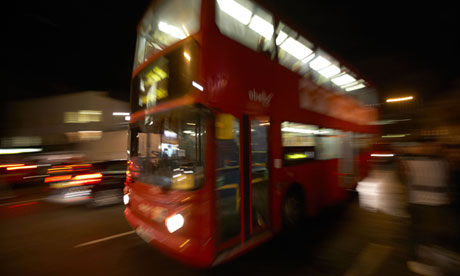 London Buses at Night London Night Buses – And i