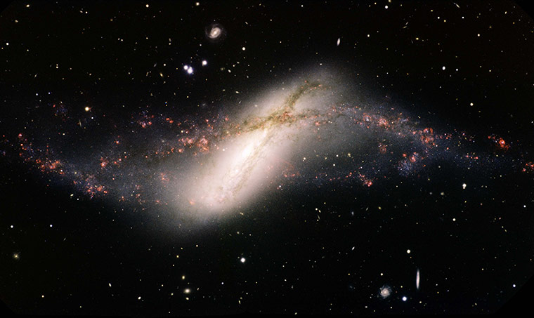 A month in Space1: Poetry in Motion: Rare Polar-Ring Galaxy