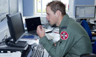 Prince William on duty at RAF Valley