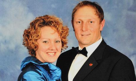 SAS sergeant Danny Nightingale with his wife Sally