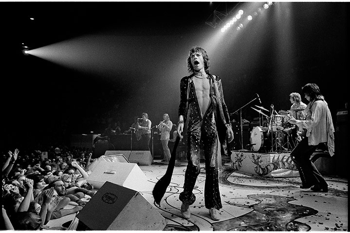 The Rolling Stones In 1972 Jim Marshall S Classic