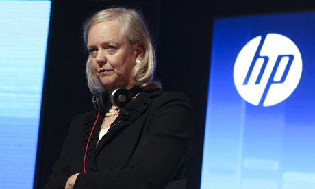 HP chief executive Meg Whitman