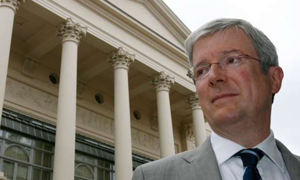 Tony Hall: new BBC director-general. Photograph: Luke MacGregor/Reuters