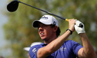 Rory McIlroy of Northern Ireland plays a