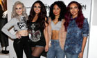 Little Mix (left to right): Perrie Edwards, Jesy Nelson, Leigh-Anne Pinnock and Jade Thirlwall.