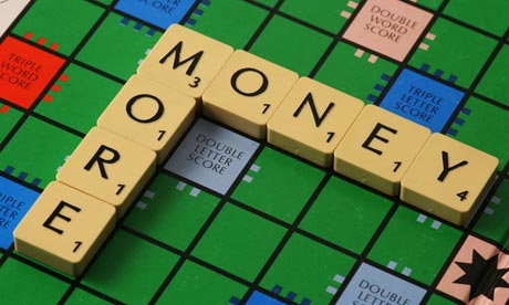 scrabble word 'money'