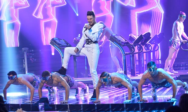 Rylan Clark on The X Factor
