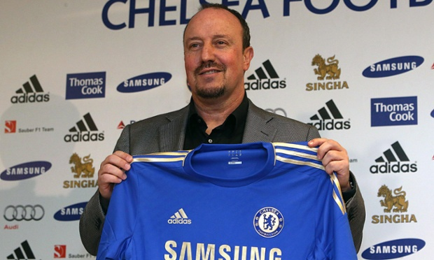 Rafael Benitez is unveiled as Chelsea boss at Stamford Bridge