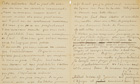 Vincent van Gogh and Paul Gauguin letter