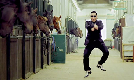 Gangnam Style's 'horse-riding' dance has become one of 2012's cultural phenomenons