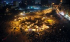 View of tents in Tahrir square, anti-Morsi protest, in Cairo, Egypt