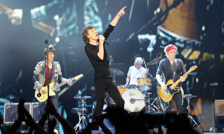 Rolling Stones at the London O2 Arena