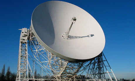 Jodrell Bank, the radio telescope