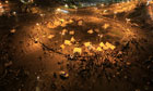 Sit-in in Tahrir Square over Morsi decrees