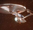USS Enterprise from the TV series Star Trek