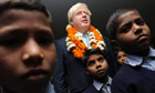 Boris Johnson visits India