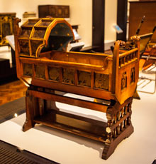 Gothic cradle by Norman S 001 Pull up a chair: inside the V&As brilliant new furniture gallery