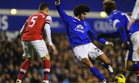 Marouane Fellaini of Everton