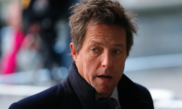 As was the actor Hugh Grant who is a high profile campaigner on press intrusion.