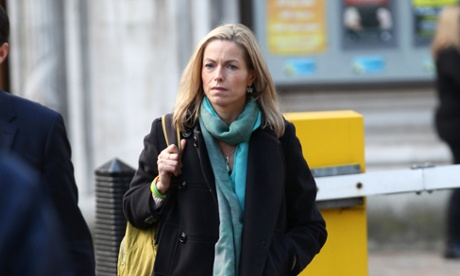 Kate McCann arrives for the announcement of Lord Justice Leveson's report on 29 November 2012.