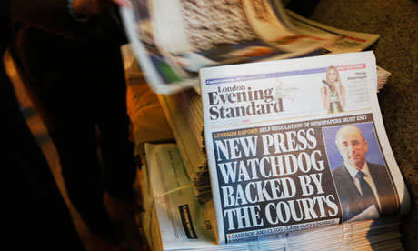 Lord Justice Leveson headline