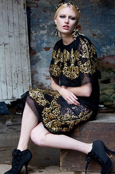 Women 39 S Baroque Key Fashion Trends Of The Season Fashion The Guardian