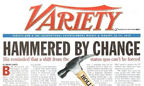 variety magazine change
